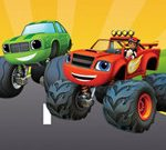 Blaze Monster Truck Hidden Pumpkins